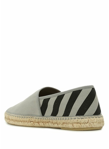 Off-White Espadril Gri